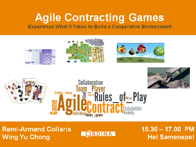 Agile Contracting Games - Intro